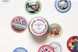 【売り尽くしセール】Circle Sticker 缶 03-Vintage 【シール】【ラベル】