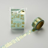 Round Top Washi Tape Tape Foil Stamping United Kingdom Washi Tape