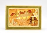 【春の大感謝祭セール!】【クリスマス】【ライト付ハウスボックス】