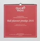 【クオバディス】2016年カレンダー ウォールプランナープレステージ