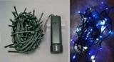 【クリスマス】LEDライトチェーンICコントローラー付き 96球 ブルー×ホワイト