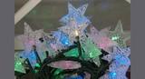【クリスマス】LEDスターライトチェーンICコントローラー付き 48球 マルチ