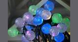 【クリスマス】LEDボールライトチェーンICコントローラー付き 48球 マルチ