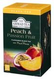 【紅茶】AHMAD TEA ピーチ&パッションフルーツ 20P