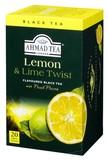 【紅茶】AHMAD TEA レモン&ライム 20P