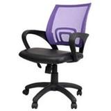 オフィスチェアー8006【紫】 8006-MSC-PR