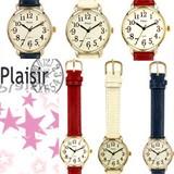 Plaisir(プレジール)シンプルベルト腕時計