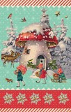ROGER LA BORDE クリスマス スモールカード <きのこ>