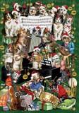 ROGER LA BORDE クリスマスカード <猫×楽器>