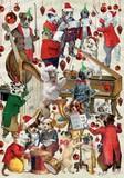 ROGER LA BORDE クリスマスカード <犬×楽器>
