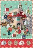 ROGER LA BORDE クリスマス アドベントカレンダーカード<きのこ>