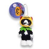 """【スクラッチ】""""ソックス"""" マスコットのハッピーハロウィン かぼちゃマント"""