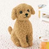 トイプードル<アプリコットカラー>【フェルト羊毛】【手作りキット】【犬】