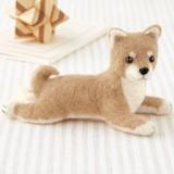 柴犬<伏せポーズ>【フェルト羊毛】【手作りキット】