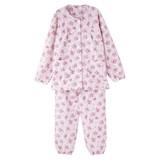 婦人キルト介護腰開きパジャマ