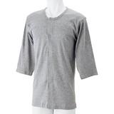 紳士7分袖ワンタッチシャツ(2枚組)