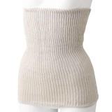 絹と綿の二重編み腹巻