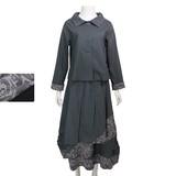 *70%OFF*◆秋冬物◆『ミセス』スカートジャケット上下セット(M15209)