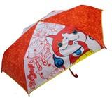 【キャラクター】【キッズ傘】妖怪ウォッチ53cm折り畳み傘-オレンジ