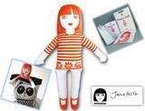 手作りソーイングキット『Large Craft Kit- POPPY DOLL(Lクラフトキット-ポッピー人形)』by Jane Foster