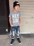 【2016年春夏新作】HEY GIRLTシャツ(日本製)<即納>