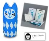 手作りソーイングキット『Medium Craft Kit- BLUE CAT』by Jane Foster