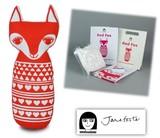 手作りソーイングキット『Medium Craft Kit- RED FOX(Mクラフトキット-キツネ)』by Jane Foster