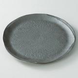 【信楽焼】鉄砂 大皿