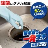 排水管の一発洗浄 塩素タイプ
