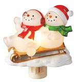 【GTS】ナイトライト スノーマン&スレイ <クリスマス>