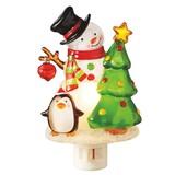 【GTS】ナイトライト スノーマン&ペンギン <クリスマス>
