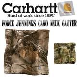 ★秋冬新作♪ CARHARTTForce Jennings Camo Neck Gaiter 14031