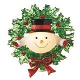 【GTS】ナイトライト スノーマン&リース <クリスマス>