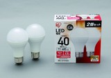 【LED照明 電球】LED電球2個セット 40W(485lm)