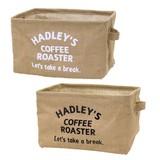 【Hadley】ハドレー 角収納ケース(L)