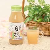 国産 白桃ジュース(180ml)【原産国:日本】
