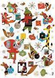 ROGER LA BORDE クリスマス アドベントカレンダーカード<動物>