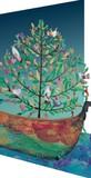 ROGER LA BORDE クリスマスカード レーザーカット <鳥>