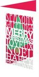 ROGER LA BORDE クリスマスカード レーザーカット <ツリー>