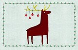 ROGER LA BORDE クリスマス スモールカード <トナカイ>
