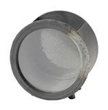 【信楽焼】陶製きんぎょ箱・丸型〈エアポンプセット・陶ころ付〉
