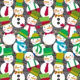 THE GIFT WRAP COMPANY ジャンボラッピングペーパー クリスマス <スノーマン> 包装紙