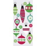 THE GIFT WRAP COMPANY セロトリートバッグ(セロファンバッグ) クリスマス オーナメント