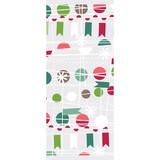 THE GIFT WRAP COMPANY セロトリートバッグ(セロファンバッグ) クリスマス