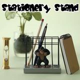 【おしゃれ雑貨 インテリア】ステーショナリースタンド ペン立て スタンド 動物園