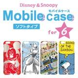 Disney&Snoopy モバイルケース