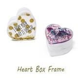 Heart Box フォトフレーム ハート ボックス 小物入れ ジュエリーボックス バレンタイン 雑貨