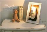 【Magnifiqueマニフィック】1灯ウォールフレームランプ/WHAT(OB-079-1W)