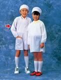 学童給食衣(ホワイト)SKV358