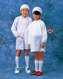 学童給食衣(ホワイト)SKV361